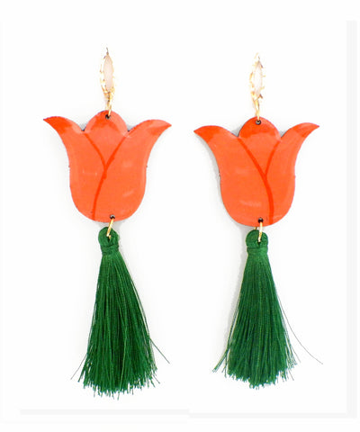 Nuez Moscada: Tulip Earrings