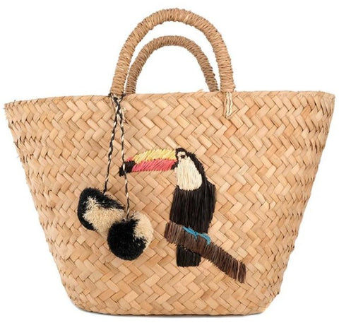 Ipanema Basket Tote Bag