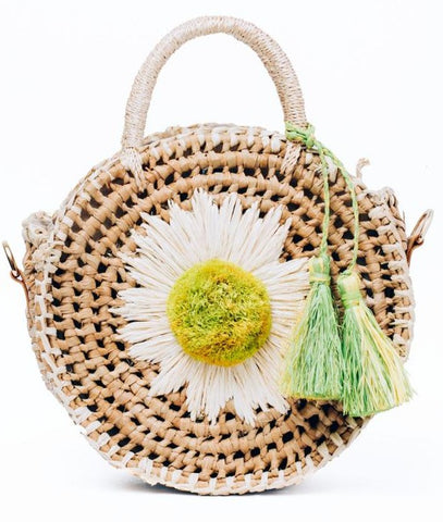 Style Cat Santhiya: Circle Basket Sling  Bag