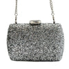 Diana & Co Zilveren Clutch handtas