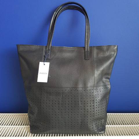 Pieces Laura geperforeerde shopper