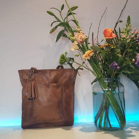 Burkely shopper in cognac Noble Nova