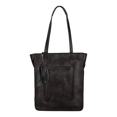 Burkely Noble Nova Shopper zwart schoudertas