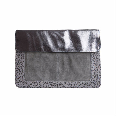 PIECES Marieva Clutch Castlerock