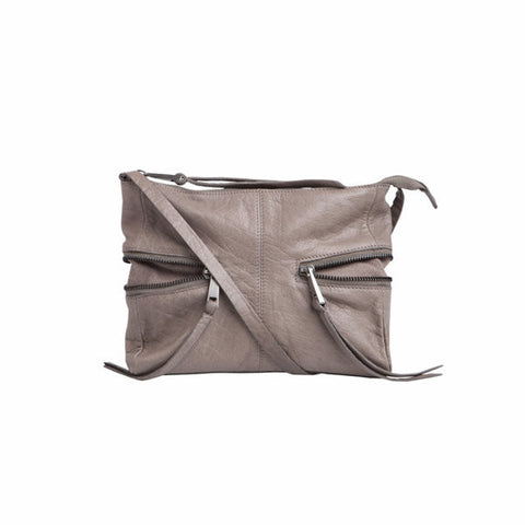 Pieces Billie Crossbody Elephant Skin