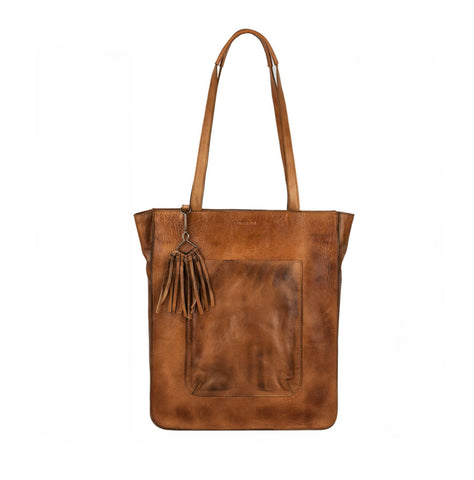 Burkely Noble Nova cognac shopper