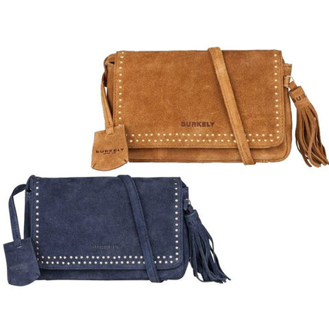 Burkely Festival X-Over Studs blauw & cognac