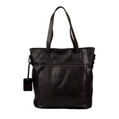 Burkely Jade Laptop Shopper zwart
