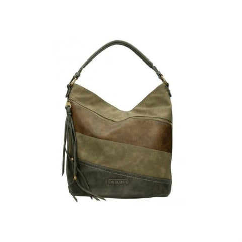 David Jones kaki hobo tas