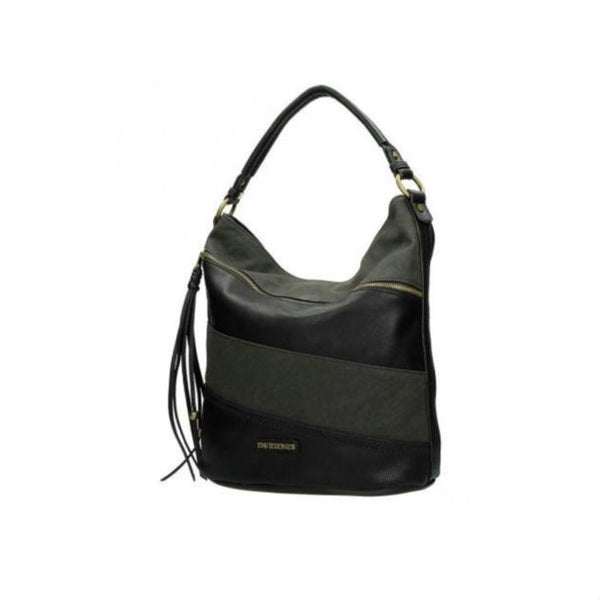 David Jones zwart hobo tas
