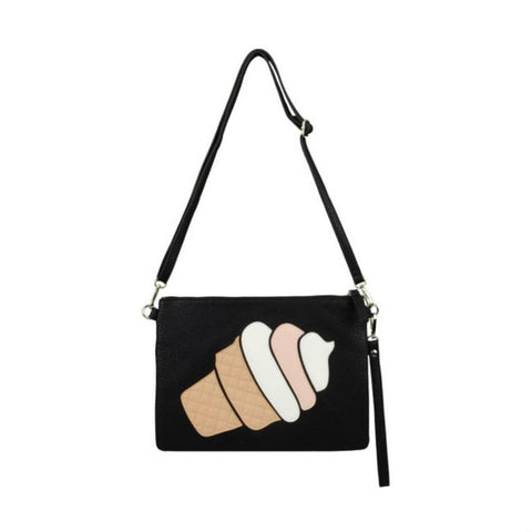 Diana & Co Icecream Bag zwart