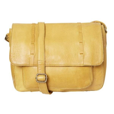 PIECES Felicity Leather Large crossbody