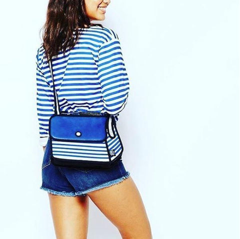 JumpFromPaper Stripe Blue