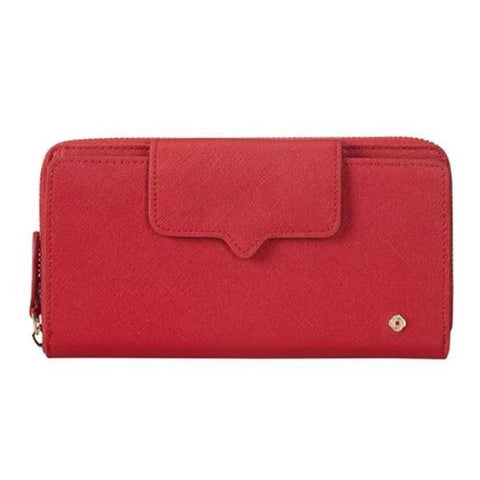 Samsonite Miss Journey SLG zipper Scarlet Red