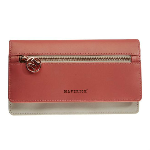 Maverick Alice ladies wallet Pink/Slate