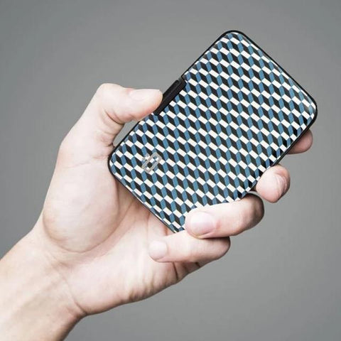 Ögon Card Case jacquard