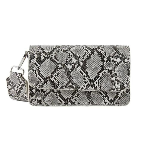 schoudertas PIECES Elvira crossbody SNAKE