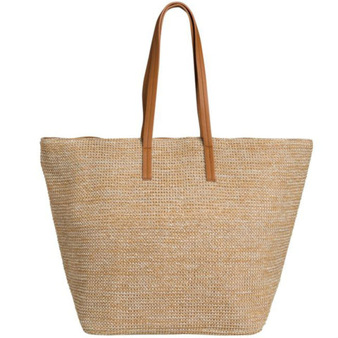 PIECES Ilana Beach Shopper Nature