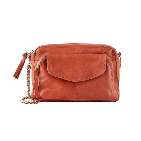 PIECES Naina Leather Crossbody