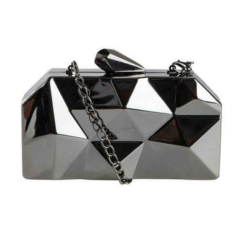 PIECES Zizze Party Hard Case - metallic party crossbody schoudertas