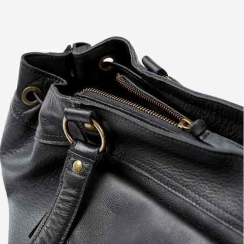 PIECES Beth Leatherbag