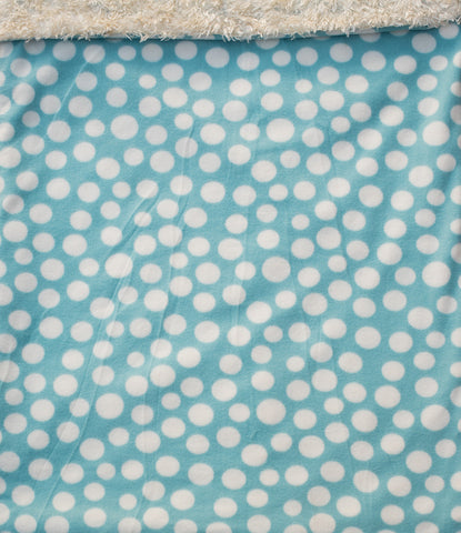 "Dog Pocket ""Spotty Blue"""
