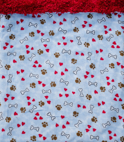 "Dog Pocket ""Blue Skies & Puppy Eyes"""