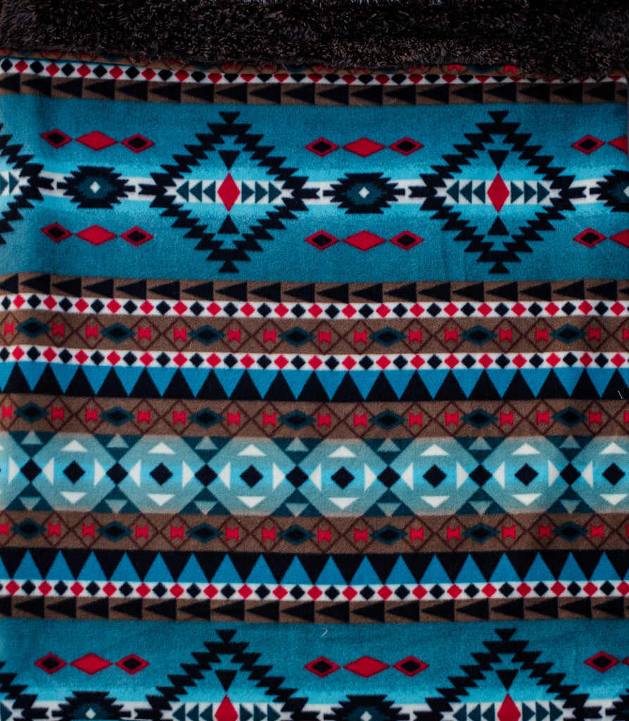 "Dog Pocket ""Blue Navajo"""