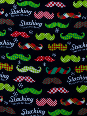 "Dog Pocket ""Merry Moustache"""