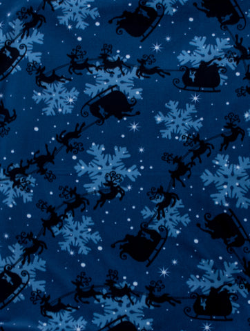 "Dog Pocket ""Snowy Night"""