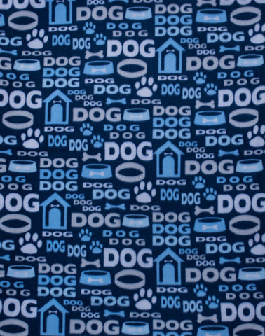 "Dog Pocket ""Blue Dog Life"""