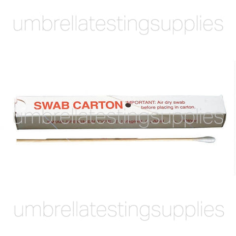 Specimen, Non-Biodegradable Swab + Box Combo - Body Fluid Collection - w/Printed Box