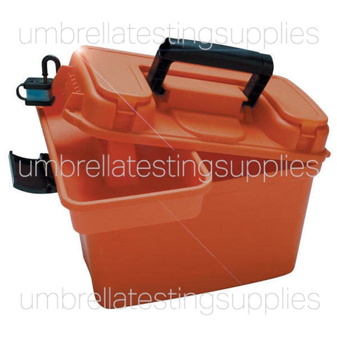 Orange, Easy Carry Case - Supply Box with Handle