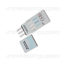 View images for 3 panel clia waived dip card drug test