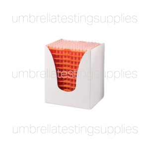 Certified Pipette Tips, 1-200uL, Universal, Natural, 54mm, STERILE, Racked, 96/Rack, 10 Racks/Box