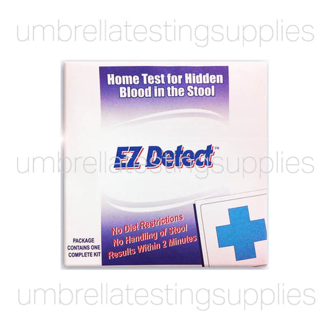 EZ Detect - Blood Stool - Home Testing Kit - Fecal Occult Test