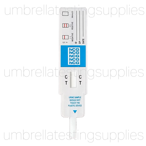 View images for HCG - Pregnancy - Urine Dip Test Card - CLIA Waived