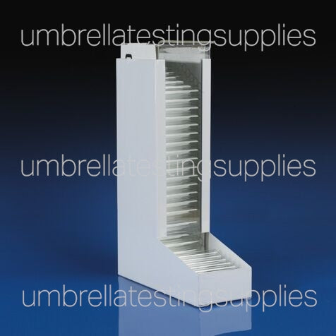 Dispenser, for 10x75mm and 12x75mm Glass Culture Tubes, Metal