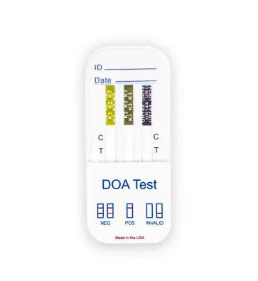 K2/K3/K4 - 27 Compound - Synthetic Cannabinoid Drug Test - Dipcard
