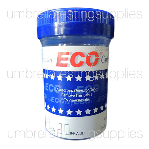 (5 - 10 Panel) ECO - Multi Drug Test Cup - 60mL