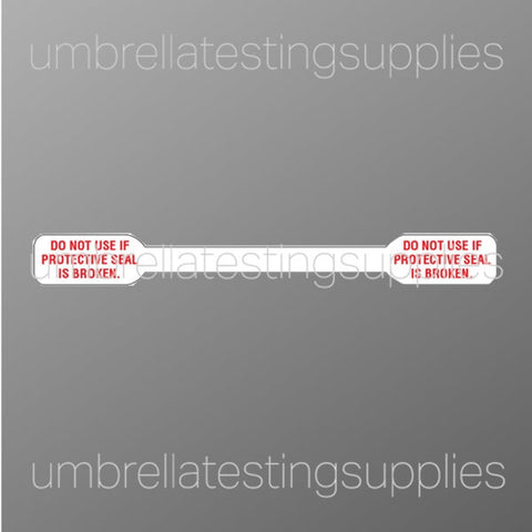 Thin - Protective - Adhesive - Security Seal Tape, 1.5