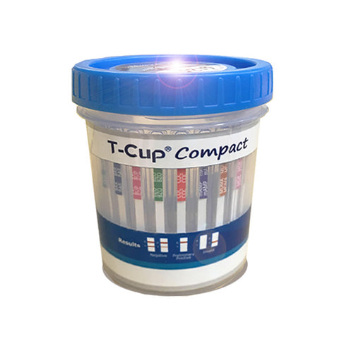 New - Compact Version - TCup - Multi Drug Test Cup