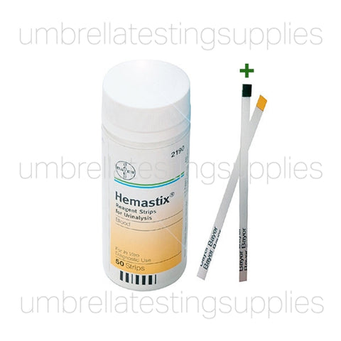 View images for Bayer 2190 blood urine strips detection