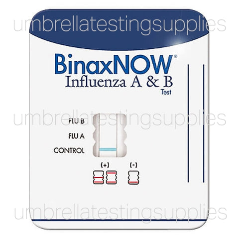 View images for binax now flu test ab influenza flu test kit