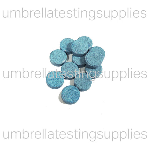 Bluing Tablets - Fast Dissolving - Blue Water Detection, Blue Tablets