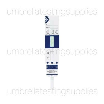 View images for confirm bio single panel dip card drug test