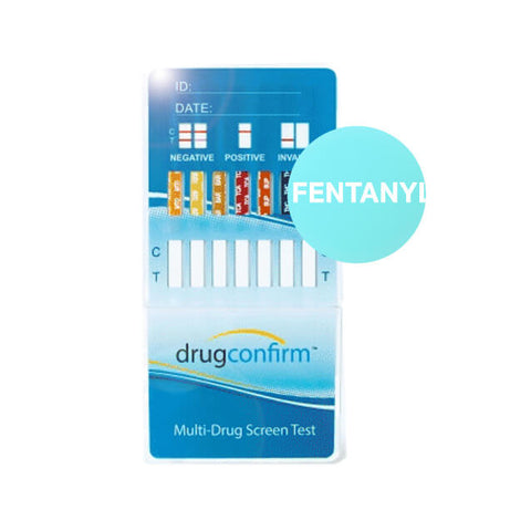 Multi Dipcard - Promotion - 12 panel (BUP) w/Fentanyl - Blue Styled