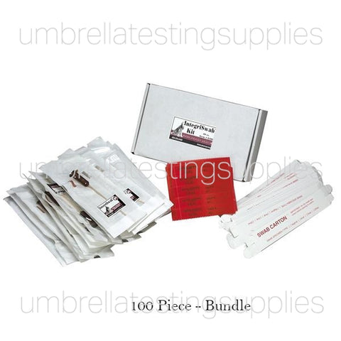 Buccal Swab Kit - DNA-Free, Cotton Swab Collection, Mailing Boxes, and Seals