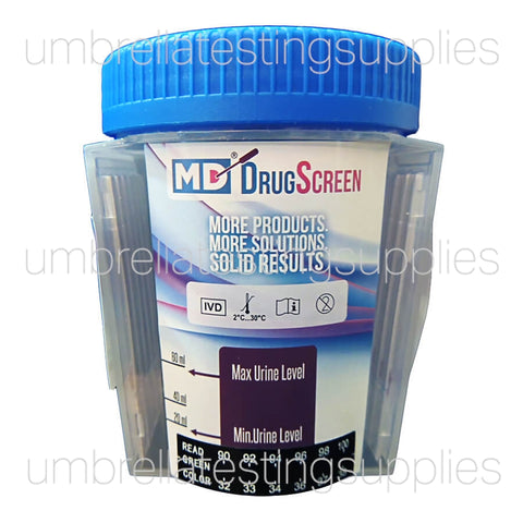 (5 - 14 Panel) MD - DrugScreen - Multi Panel Test Cup