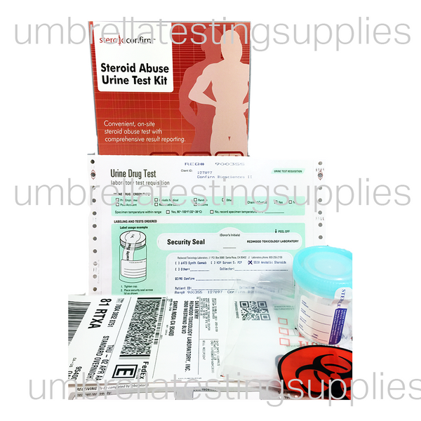 Home-Use Anabolic Steroid Lab Test - 58 Compounds